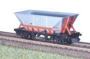 NR-301 Peco: (MGR COAL HOPPER WAGON) TOPS HAA BR Railfreight - Red Cradle